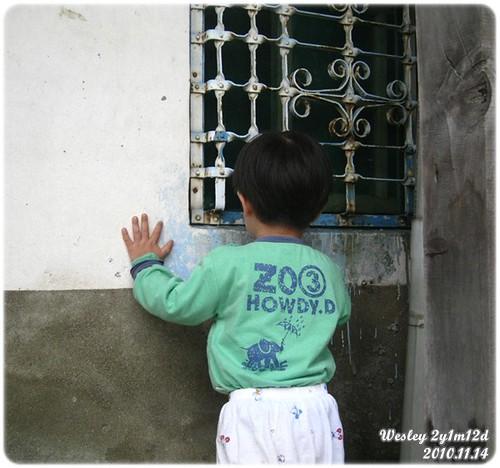 101114-倚窗的孩子