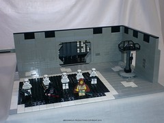 Star Wars Custom Lego Obi Wan v Darth Vader 4