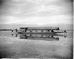 Doonga on the Wular 1911.No 23 (richardasplen) Tags: india historic kashmir srinagar raj wularlac