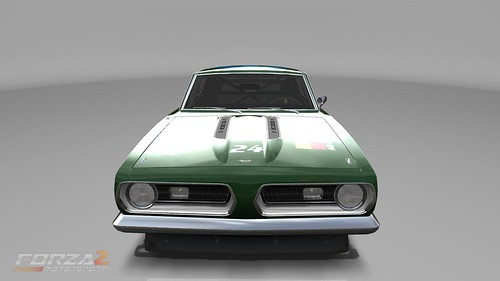 Cuda Front - Muscle car look