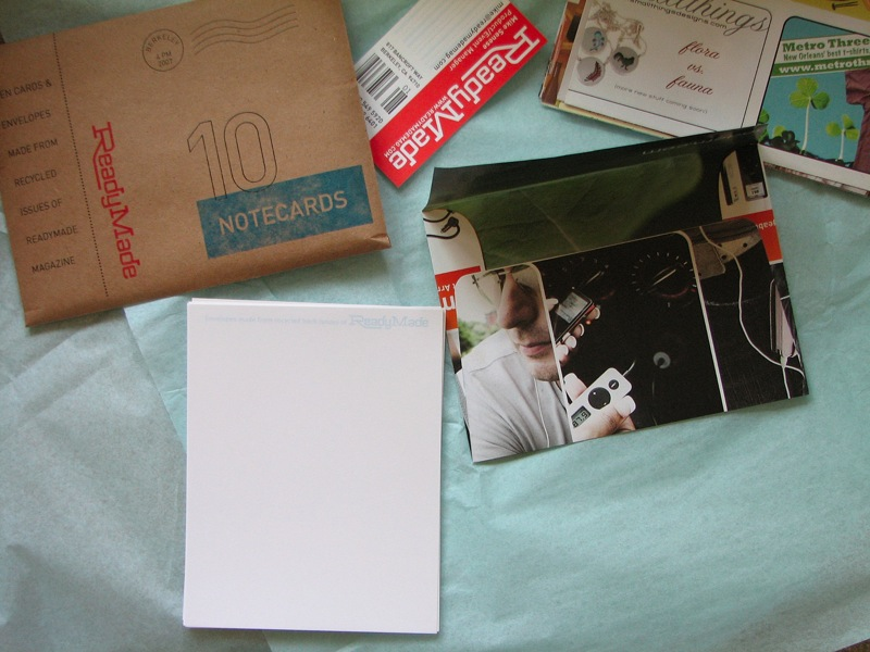 ReadyMade Notecard Sets