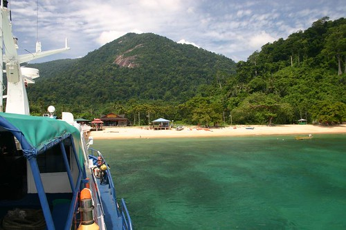 Wonderful Tioman Island, Southeastern Malaysia. July 2007.