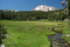 Lassen Peak Meadow (StevenLPierce) Tags: california park mountains northerncalifornia creek volcano meadow parks national wetlands nationalparks lassen lassenvolcanicnationalpark lassenpeak superbmasterpiece