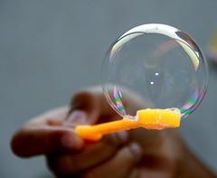 buBBle (Diji's Photography) Tags: abstract macro home water closeup canon experiments bubble dslr coolest dfc 400d abigfave