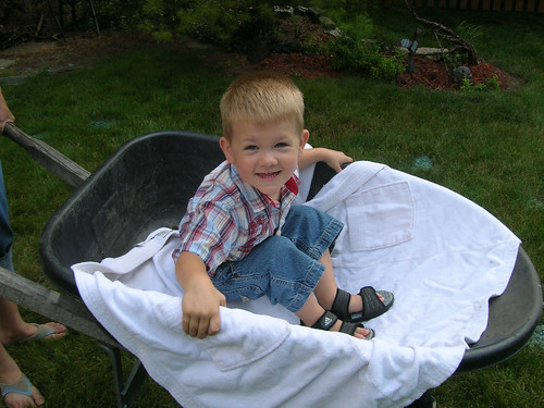 Summer Memories: Wheelbarrow Rides