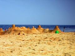 Dewey Beach sandcastle