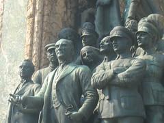 Cumhuriyet Anıtı (Antonio (Poptun)) Tags: turkey istanbul ottoman İstanbul bosphorus constantinople galatatower mustafakemalatatürk byzantineempire اسطنبول