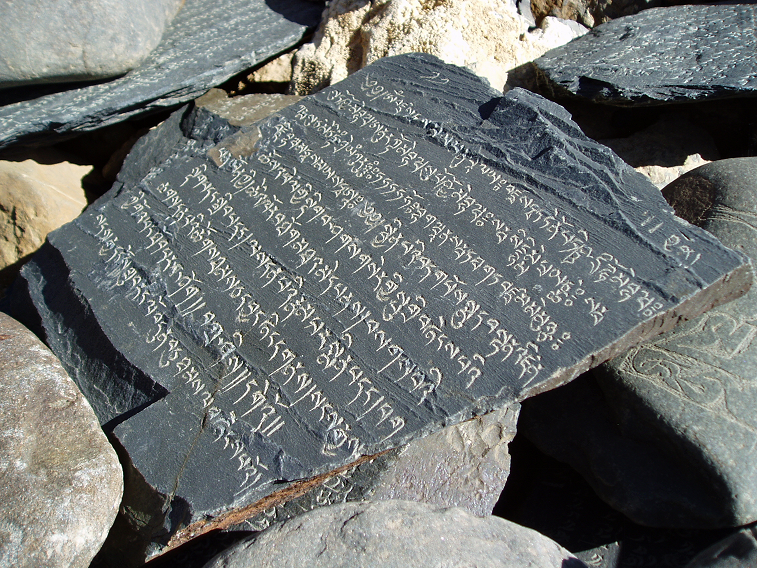 Ladakhi rock inscriptions