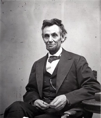 Abrham Lincoln thinking