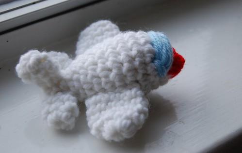 mini stuffed airplane