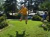 Jumping myself