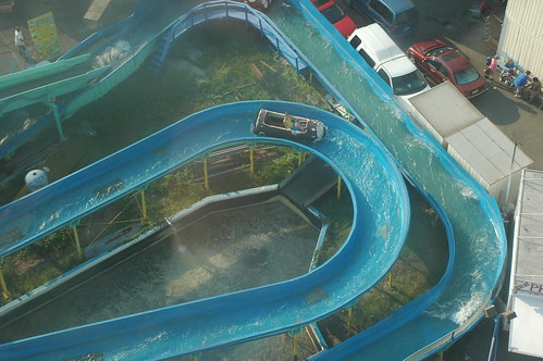Flume Ride, viewed from Astroland Tower