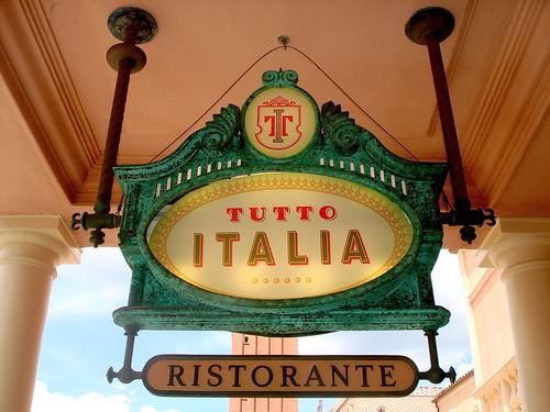 Tutto Italia Ristorante, sign
