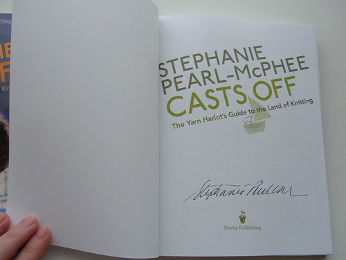 Signed Copy of Casts Off