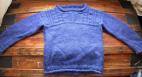 Ravelry Child S Guernsey Sweater And Hat 23 Pattern By