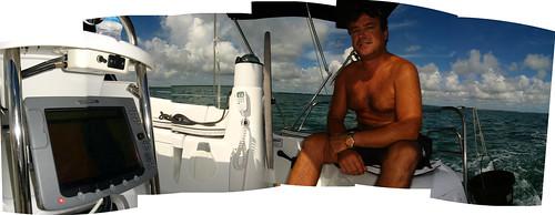 Onboard navigation system on Jeanneau 42DS