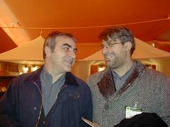 Tanino Liberatore e Gianfranco Grieco - photo Goria - click