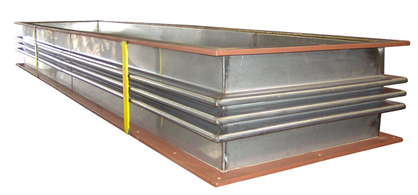 "84"" Long Rectangular Metallic Expansion Joint"