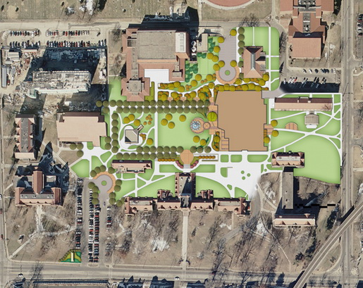 Millikin University Campus Map.Millikin University Announces 85m In Campus Improvements Urban Stl