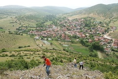 Nikishtan viewed from Big Rock (kosova cajun) Tags: landscape macedonia balkans celo bigrock makedonija peisazh maqedonia fshat nikishtan katund guriimadh