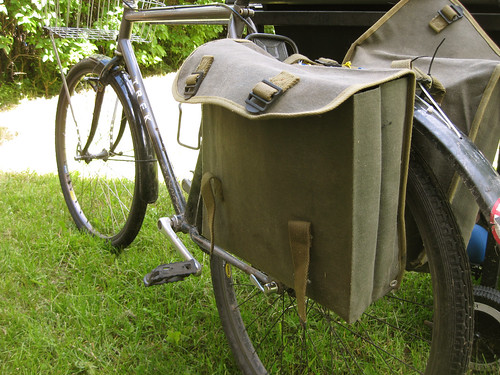 DIY Bike Hack - Pannier Support