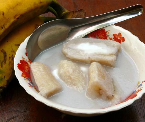 בננות בחלב קוקוס