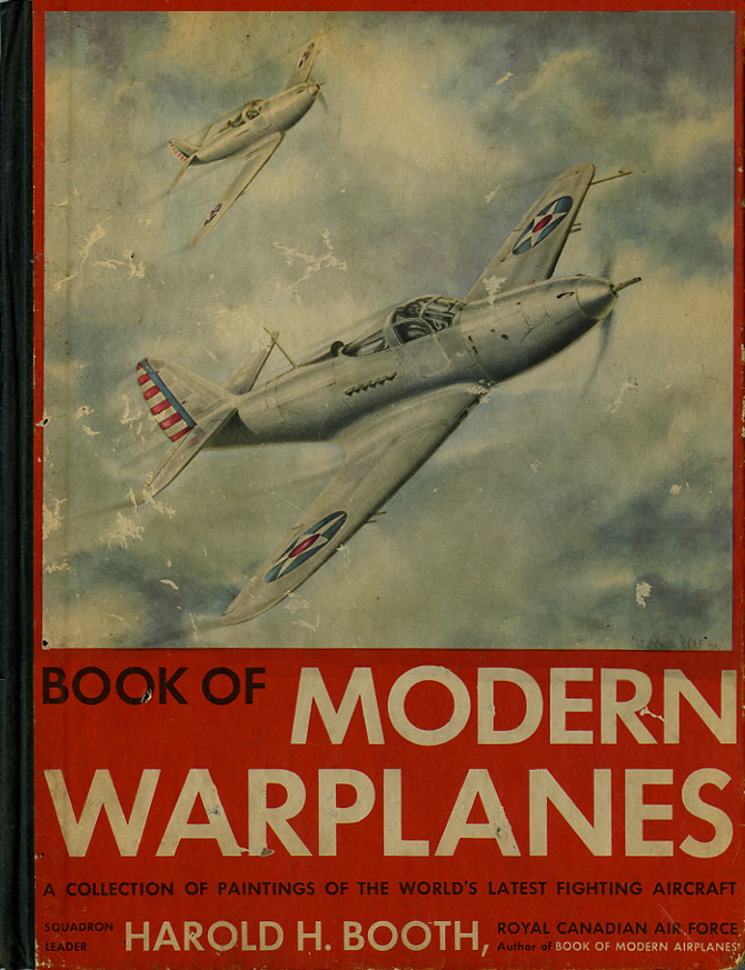 Book of Modern Planes_1942_tatteredandlost