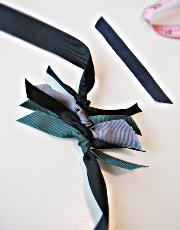 RIbbon Necklace DIY -4