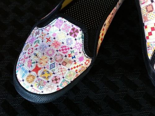 Midget Blocks - Shoes at Zazzle (closeup)