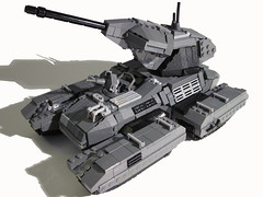 Scorpion Tank (Benny Brickster) Tags: tank lego chief halo scorpion master covenant unsc