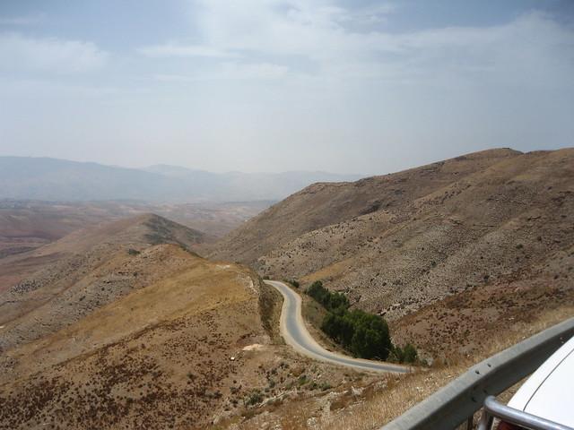 Paso del Izumar, atravesado por las tropas españolas evacuadas de Annual la tarde del 22 de Julio de 1921 camino de Ben Tieb.