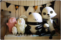 gathering! (megipupu) Tags: toy figure collectible treeson bubiauyeung pandab