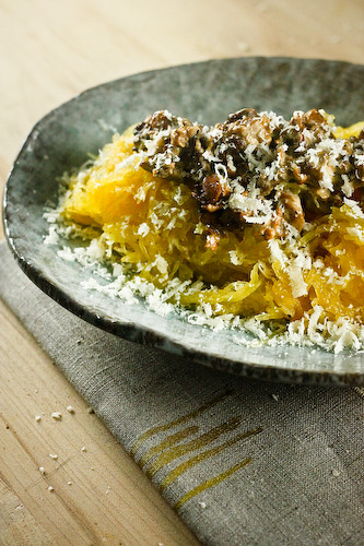 Spaghetti Squash and Chanterelles 2 (1 of 1)