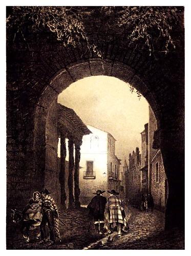 027-Puerta de Zamora-Talavera de la Reina-Recuerdos y bellezas de España Castilla la Nueva Vol 2