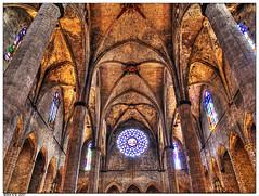Santa Mara del Mar II (Paco CT) Tags: barcelona church architecture spain arquitectura gothic iglesia olympus explore catalunya soe hdr 2007 gotico santamariadelmar e500 3xp supershot 25faves abigfave anawesomeshot superaplus aplusphoto ltytr2 ltytr1 ltytr3 ltytr4 ltytr5 ltytr6 travelerphotos goldenphotographer diamondclassphotographer bratanesque superhearts pacoct fiveflickrfavs