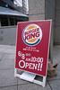 Burger King 開店, 新宿