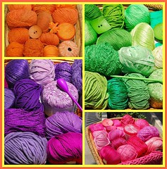 KNITTING ART and Mallia Sakalak (sifis) Tags: summer colour art shop fdsflickrtoys nikon knitting tank top buttons crochet silk knit athens yarn greece cotton d200 shrug handknitting yarnshop  sakalak