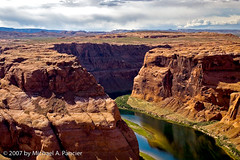 Horseshoe Bend (Michael Pancier Photography) Tags: americansouthwest coloradoriver desert glencanyon horseshoebend pagearizona arizona landscapes rivers sandstone nature michaelpancier naturephotographer naturephotography floridaphotographer fineartphotography az seor seorcohiba wwwmichaelpancierphotographycom michaelpancierphotography