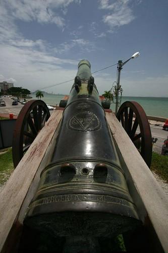 Fort Cornwallis, Penang.