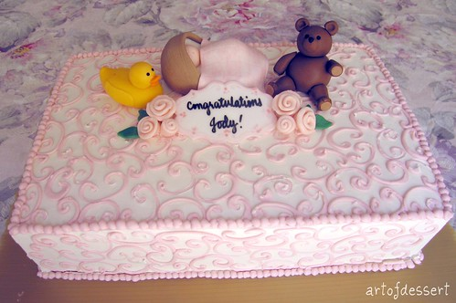 Jody's Baby Shower Cake