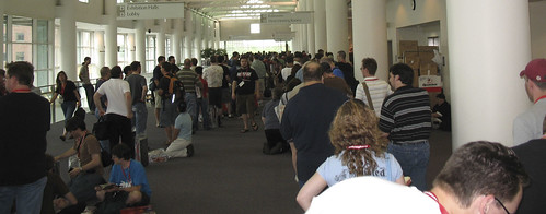 Botcon - Day 1 - The line just to by Alpha Trion