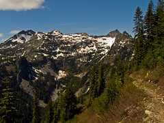 Snoqualmie Mountain from the PCT