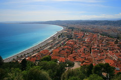 Classic View of Nice (YY) Tags: city france landscape bay town nice castlehill vieuxnice exlore chateaudenice