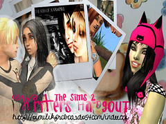 The Sims 2 Writers Hangout by ninjesama