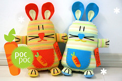 Poc Poc rabbit!! (Fafi) Tags: rabbit toy softies coelho maricota