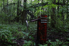 the turnstile (el_rebelde) Tags: ohio abandoned rollercoaster turnstile bigdipper chippewalake