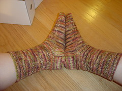 Campfire Socks side view