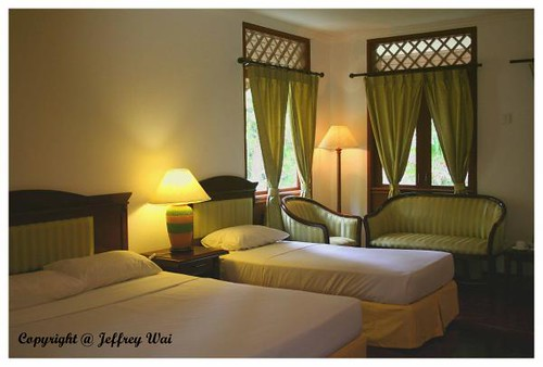 Bed Room Design Interior at Sibu Island