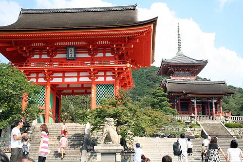 Kiyomizu-dera gate, Kyoto