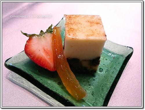 世貿聯誼社西餐廳甜點